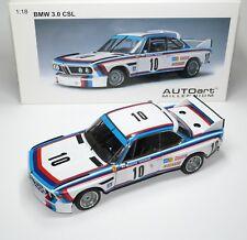 BMW 3.0 3,0 CSL e9 WINNER ETCC 24h SPA 1973 Quester Hezemans Autoart 87346 1:18