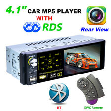 P5130 4.1 Inch 1 Din Bluetooth Touch Screen MP5 Player Auto Stereo Radio W/RDS