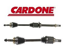 Set of 2 Front Left and Right CV Axle Shafts A1 Cardone for Scion xB 2008-2015