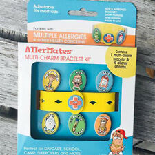 AllerMates Multi Charm Package - Wristband with Six Charms