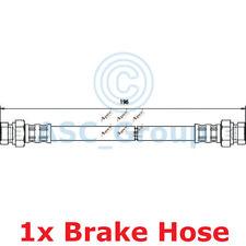 Apec BRAKING 196mm Scheibe Bremssattel Flexibel Gummischlauch Hos3609