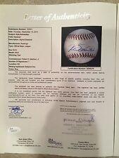 CHICAGO CUBS PHENOM KYLE SCHWARBER SIGNED MLB DEBUT BASEBALL-RARE  JSA