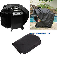 Heavy Waterproof Cover For 2 4 Burner Gas Grill Wagon Barbecue BBQ's 145x61x 117