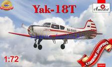 """Amodel 72303-01 """" Soviet Aircraft Yakovlev Yak-18T """" plastic model kit 1/72"""