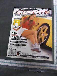 Import Tuner Magazine Back Issue July 2001