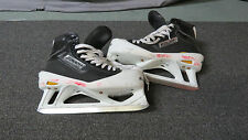 Used Bauer Supreme Pro Stock Ice Hockey Goalie Skates Size 10.5 D/A Flyers