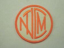 Vintage Nctm North Carolina Transit Museum Sew On Patch