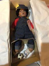 Effanbee Doll MP Darren Soccer Black Boy 317/2500 Mint In Box