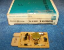1984 Oldsmobile Buick 1986-87  Buick cold start module 12034591