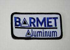 2 Vintage Barmet Aluminum Metal Recycling Patch New NOS 1980s