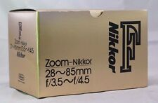 Empty Box for Nikon zoom  28-85mm f3.5-4.5   F (Ai) Nikkor  lens