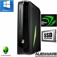 Alienware X51 Gaming Desktop PC Intel i5 16GB 256GB SSD + 1000GB GeForce GTX