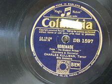 78rpm CHARLES KULLMAN student prince serenade / love in my heart