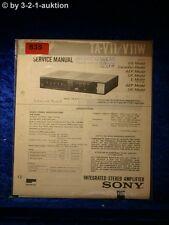 Sony Service Manual TA V11 / V11W Amplifier  (#0835)
