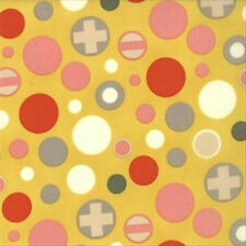 Julie Comstock Cosmo Cricket 2wenty Thr3e Flash Bulb Fabric Mustard 37056-14