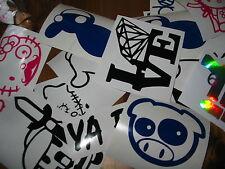 random lot of 20 stickers jdm kdm illest flush lil wayne dope ym diamond vinyl