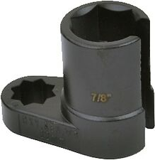 """Sensor De Oxígeno Lambda Llave de Tubo Herramienta de eliminación de claves 22mm (7/8"""") X 50 1/2"""" unidades"""
