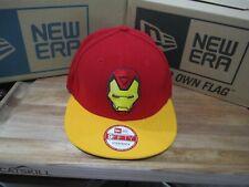 Avengers Iron Man Tony Stark Marvel New Era 9Fifty 950 Strapback Hat S/M BOX 16