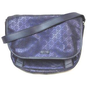Gucci Messenger Bag Cristal GG Purple Vinyl coated canvas 840748