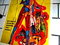 CLEOPATRA JONES AND THE CASINO OF GOLD 3 SHEET ORIG POSTER USA 75 STELLA STEVENS