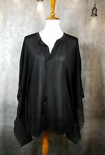 White House Black Market Butterfly Lace Trim Pullover Women's L Sweater NWT
