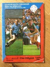 Gaa All Ireland Football semi final 1985 Dublin v Mayo, Meath v Mayo