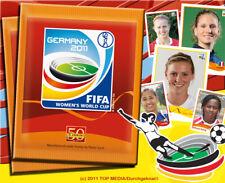 PANINI FRAUEN WM 11 GERMANY 2011 - Superseltene Sticker aussuchen pick very RARE