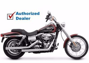 Vance & Hines Chrome Straightshots HS Exhaust Pipes System Harley Dyna 1991-2017