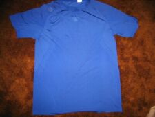 Reebok Nfl Equipment men's size medium, blue sublimated print short sleeve shirt
