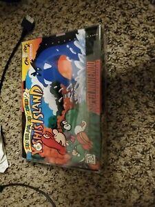 Super Mario World 2: Yoshi's Island SNES CIB Complete In Box Super NES Nintendo