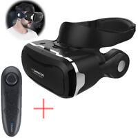 Shinecon 4.0 3D VR Glasses VR Box Headset + Headphone Gamepad for Iphone 6 7 8