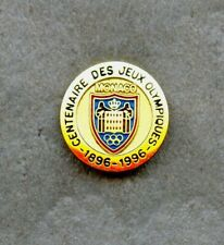 NOC Monaco 1896 Athens 1996 Atlanta  OLYMPIC Games Pin