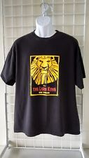 Disney's THE LION KING On Tour XL Black T-shirt   (C-19)