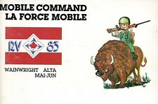 RV83 MOBILE COMMAND Wainwright Alta - ROMAN JARYMOWYCZ  CDN Military Humour RARE