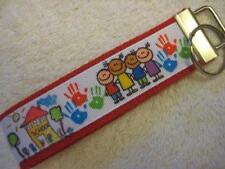 SCHOOL TEACHER/CHILDREN Key Fob (really cute keychain)