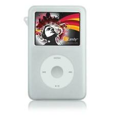 White Silicone Skin Case For iPod Classic 6th 160gb/Video 5th Gen 60GB/80GB