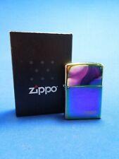 2012 Multicolore Lasered Briquet Zippo avec Étui