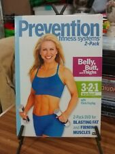 Prevention Fitness Systems 2 Pack belly butt thighs 3 2 1 workout brand NEW