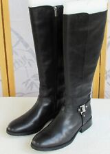 11 | Vince Camuto Farren Women Black Leather Knee High Zip Up Riding Boot