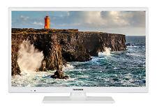 Telefunken XH24D101-W LED Fernseher 24 Zoll HD TV Triple-Tuner DVB-T2/-C/-S2 CI+