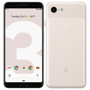 Google Pixel 3 64GB GA00465 Unlocked Smartphone - Pink (PINK SCREEN) (IL/SP5-...