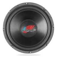 "Lanzar DCTOA124 Distinct Open Air SVC 12"" High Power IB Open Air 4 Ohm Subwoofer"