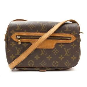LOUIS VUITTON Saint-Germain Monogram Shoulder Bag Vintage M51210