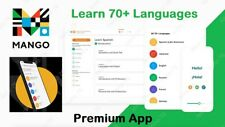 Mango | 70+ Premium Languages | Android App | 2020 Full Version | + Subscription