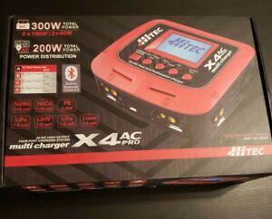 Hitec X4 AC Pro AC/DC Four Port Multi-Charger NiMH NiCd LiPo LiFe Lilon LiHV Pb