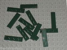 LEGO Star Wars DkGreen tile 1 x 4 ref 2431 / Set 10194 7930 7683 7259 10133 7261