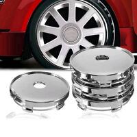4x 60mm ABS Universal Car Wheel Tire Rims Center Hub Caps Cover Decorative Top