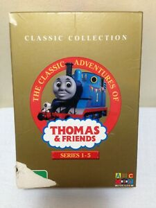 The Classic Adventures of Thomas & Friends Series 1 - 5 DVD Region 4 PAL