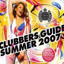 Ministry = Clubbers guide Summer 2007 = Fedde/Mason/Tiga... = 2cd = groovesdeluxe!