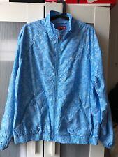 Supreme ss18 bandana print track jacket size L